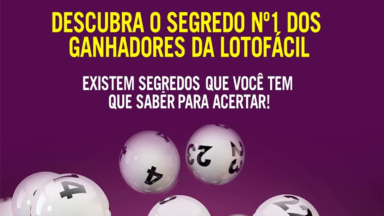 segredo lotofacil 2019