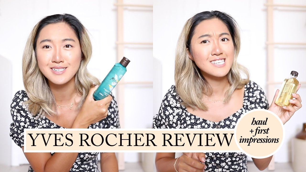 YVES ROCHER HAUL & REVIEW: Summer Must-Have Products