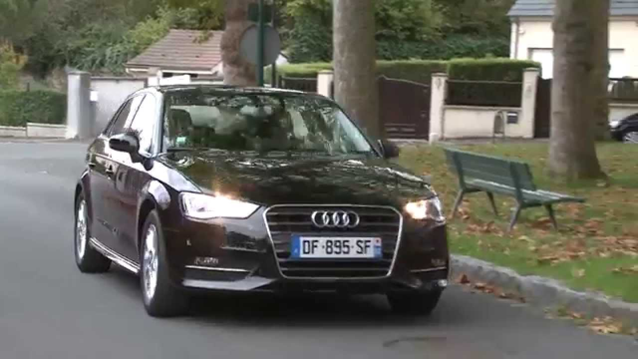 essai audi a3 sportback 1 6 tdi 110ch youtube. Black Bedroom Furniture Sets. Home Design Ideas
