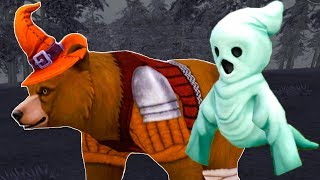 СИМУЛЯТОР МАЛЕНЬКОГО ПИТОМЦА #14 Хэллоуин с Медведями и волками. Призрак и летучие мыши в обновлении