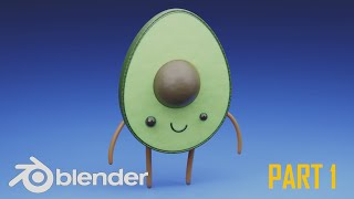 Cute Character In Blender 2.83 [ Part 1, Modelling And Rigging]
