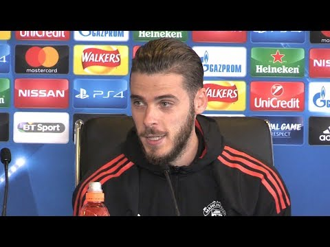 David de Gea Full Pre-Match Press Conference - Manchester United v Basel - Champions League