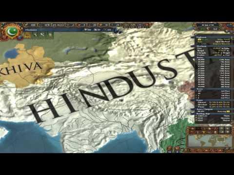 EU4 Beginner Walkthrough or Tutorial Delhi into Hindustan 54