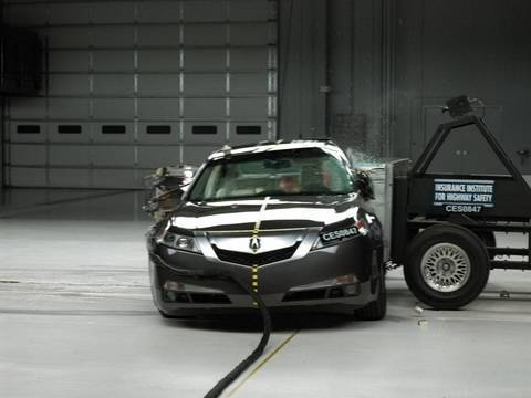 2009 Acura TL side test