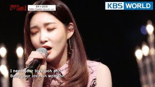 """Gambar cover """"Roller Coaster"""" (Acoustic version) by Chungha [Hyena On the Keyboard/ 2018.04.04]"""