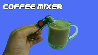 Dc 모터를 가진 전기 커피 믹서를 만드는 방법