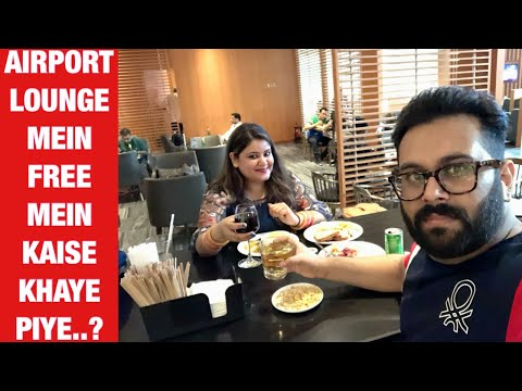 How To Access The Premium Plaza Lounge In 2 ₹ At Terminal-3 Delhi