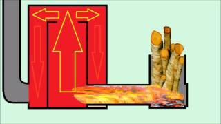 Печь ракета жуть / dangerous furnace