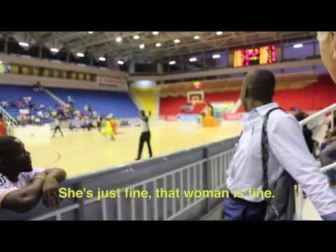 Portraits of an American Basketball Team in Angola
