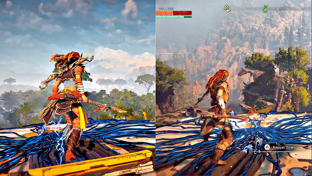 HORIZON ZERO DAWN - 50 Minutes of AWESOME Gameplay (PS4/PS4 PRO .