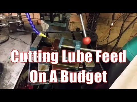 Making a Cutting Lubrication Feed Tank With Pump On A Budget
