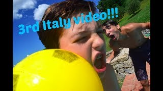 Pool challenge in Italy!!!