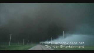 INCREDIBLE wedge tornado video! June 17, 2009, Nebraska!