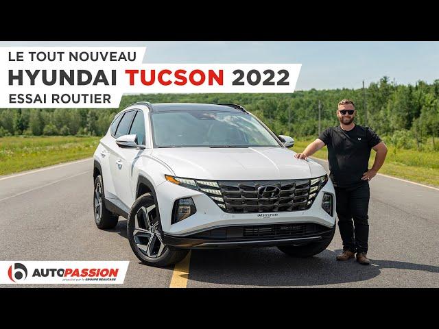 Hyundai Tucson 2022 - Un VUS Audacieux Et Encore Plus En Version Hybride !