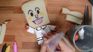 냠냠 맛있는 간식 식빵맨 만들기~~!마쉬멜로우 잼으로 …