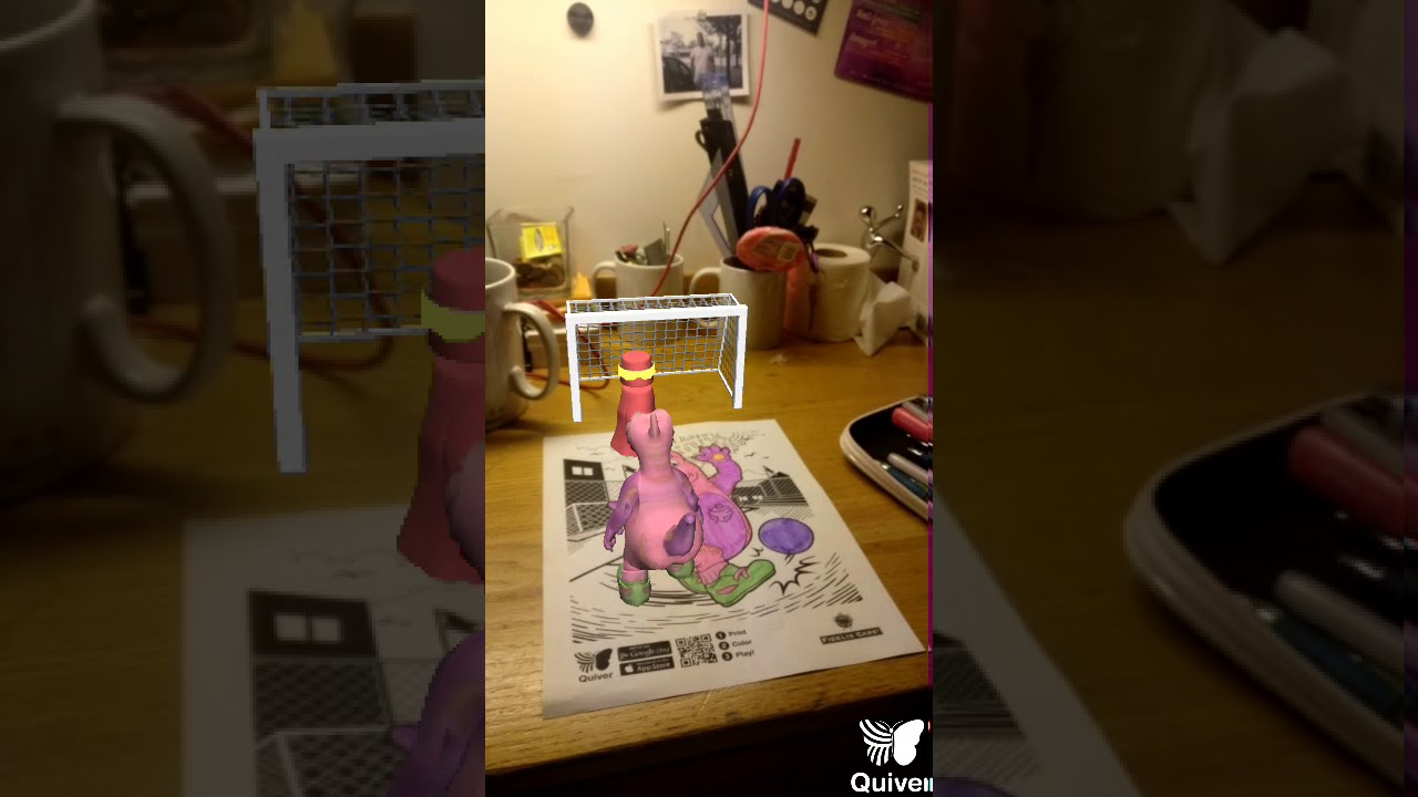 Review Quiver Is A 3d Augmented Reality Coloring App For Adults