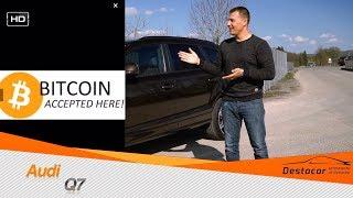 Покупка авто в Германии за БИТКОИН, виды оплат продавцу и осмотр Audi Q7