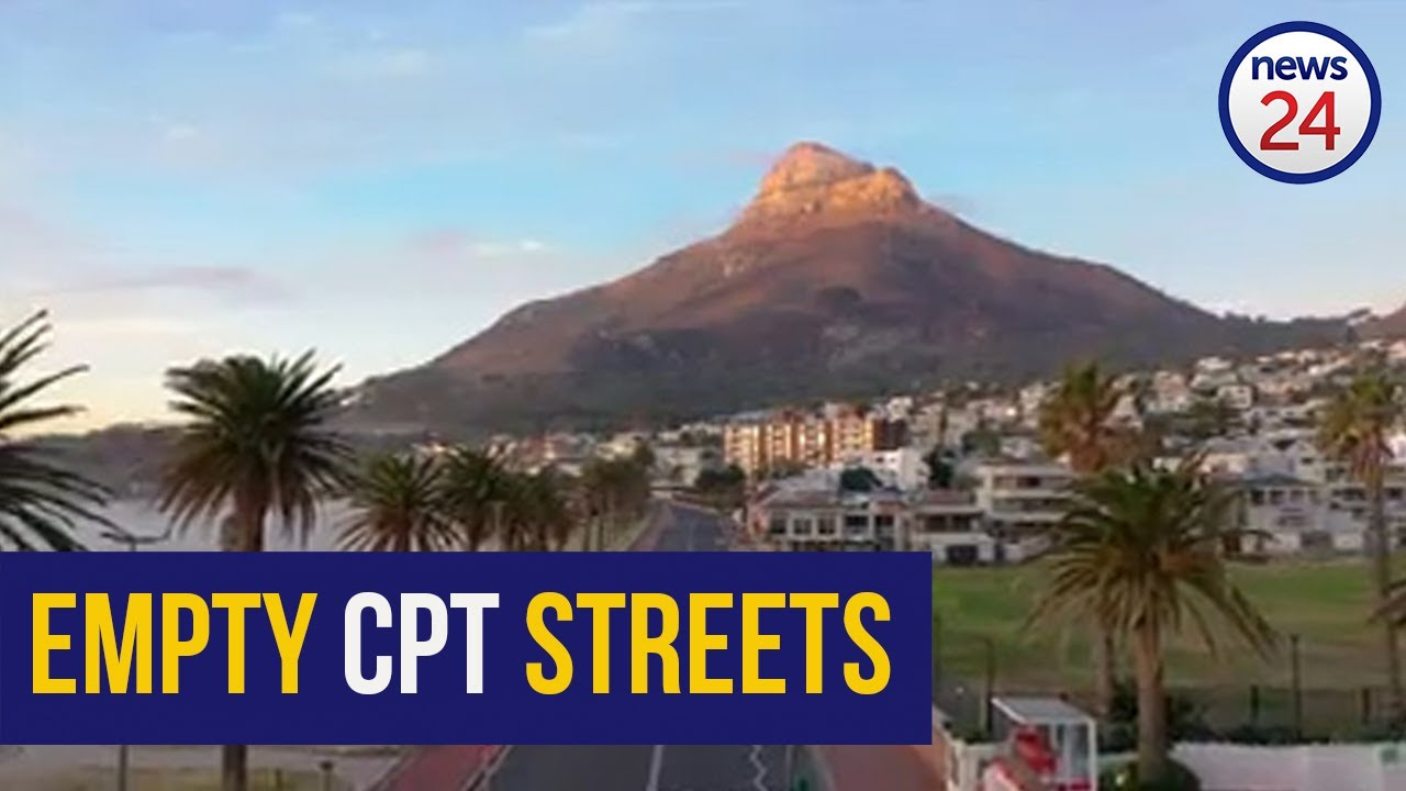 MUST SEE | Drone footage shows serene visuals of Cape Town's sleepy streets - News24