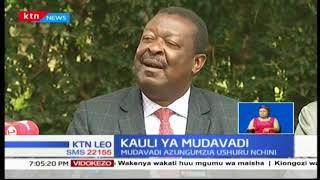 Musalia Mudavadi Rais Uhuru kutia saini mswada wa fedha