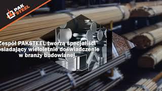 Wyroby hutnicze stal zbrojeniowa pręty żebrowane Ząbki Pak Steel Sp. z o.o.