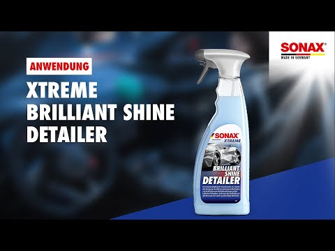 anwendung sonax xtreme brilliantshine detailer youtube. Black Bedroom Furniture Sets. Home Design Ideas