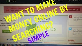 Make *money* online using qmee search ...