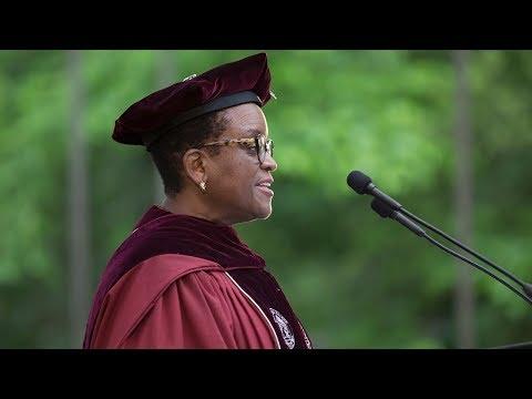 Commencement 2018 - President Valerie Smith