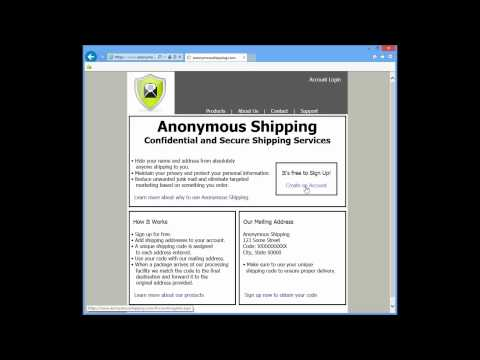 Anonymous Shipping - Secure and Confidential Shipping Services