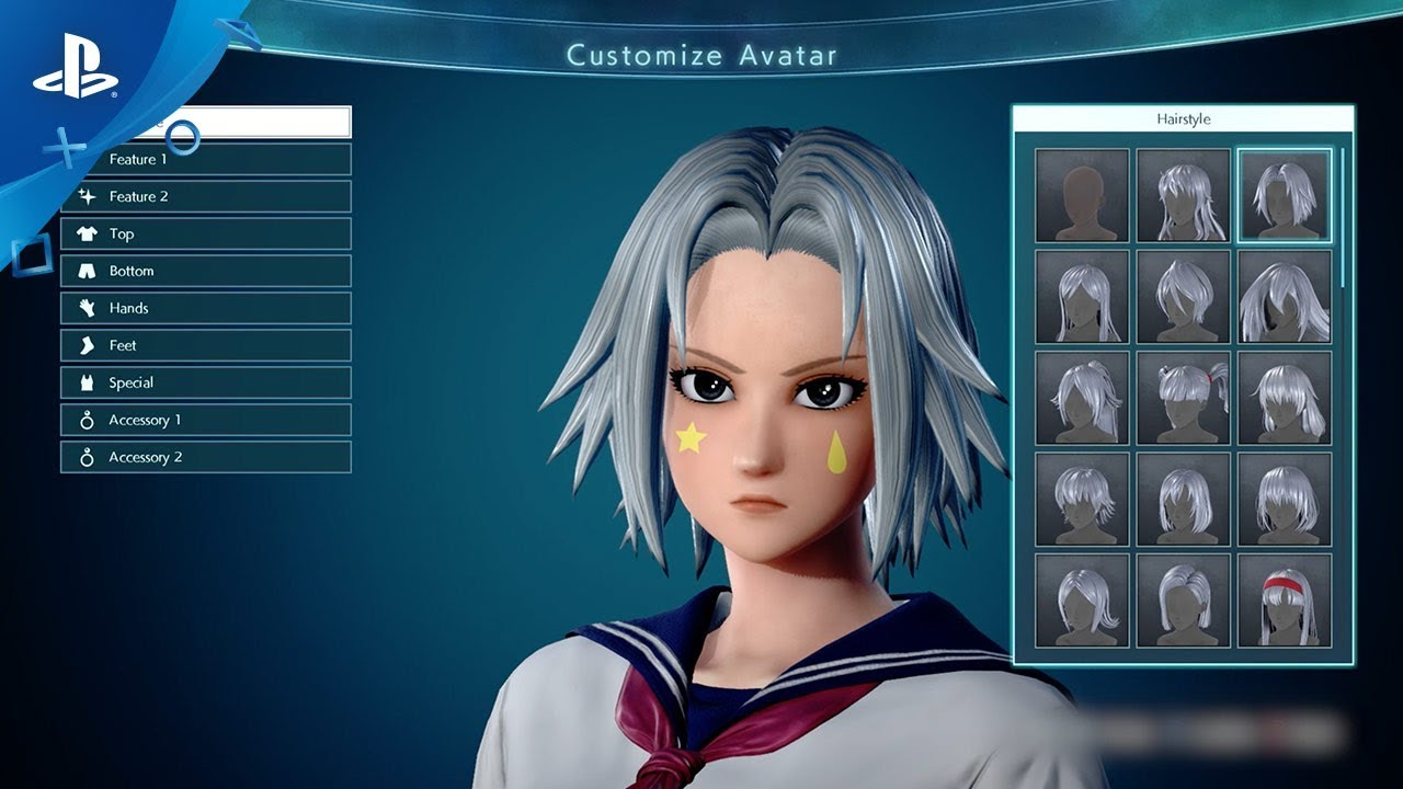 Jump Force Custom Character Creation And Story Trailer Ps4 Youtube