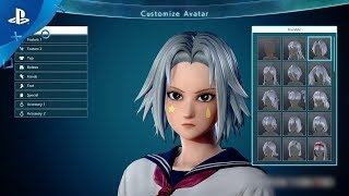 Jump Force – Custom Character Creation and Story Trailer | PS4