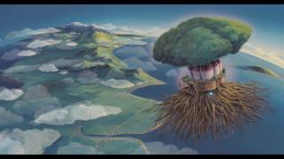 The Ending Theme of Castle in the Sky which appears during the Cred...
