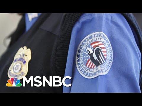 Backup Border Funding Plan Would Take Millions From TSA, Other Agencies | MSNBC