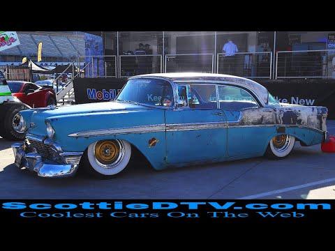 "1956 Chevrolet Bel Air Sports Sedan ""Boosted Bella"" 2018 Summit Racing Equipment Atlanta Motorama"