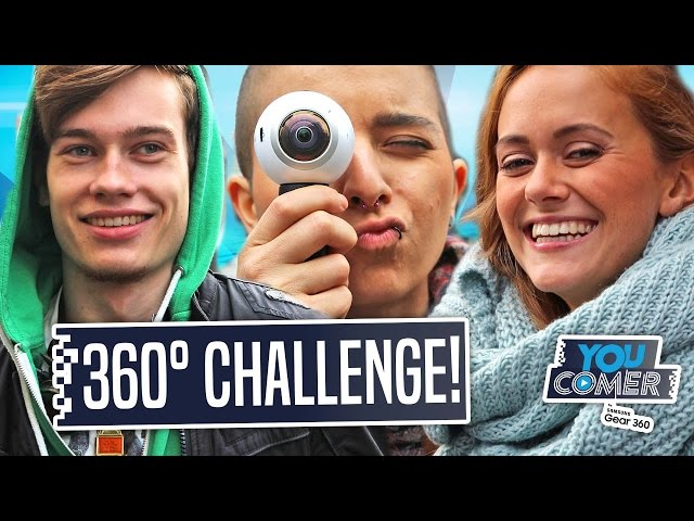HOW TO 360° VIDEO DREHEN l YouComer Backstage in 360°