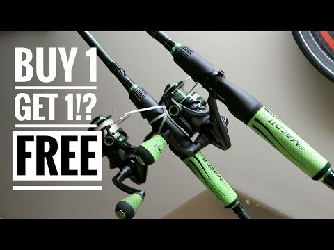 BUY 1 GET 1 FREE Fishing Combos!