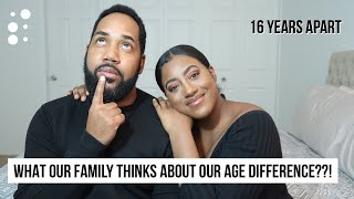 WHAT OUR FAMILY THINKS ABOUT OUR AGE DIFFERENCE??!! Q&A Married to an Older Man!