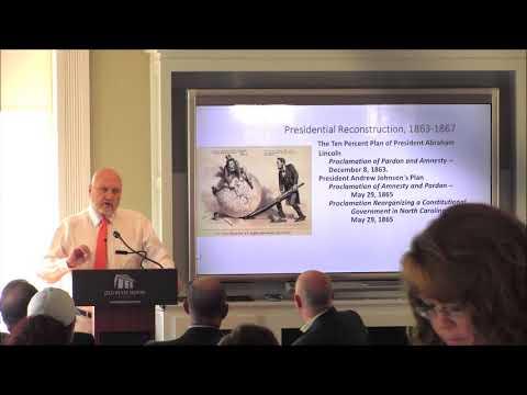 Carl Moneyhon   Reconstruction Seminar
