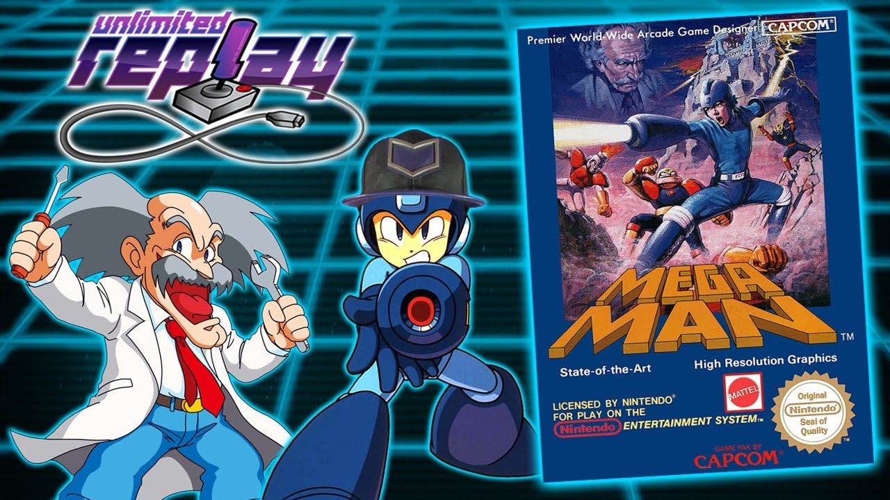 Mega Man Live Stream (NES) - Unlimited Replay