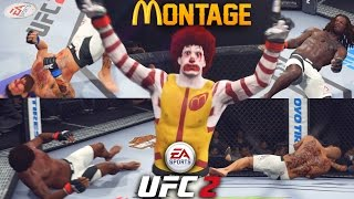 The Best Of Ronald McDonald - Knockdown and KO Montage! EA Sports UFC 2 Online Gameplay