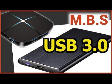 "USB3 HUB + 2.5"" HDD ВНЕШНИЙ БОКС  С АЛИЭКСПРЕСС Тест Скорости."