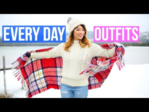 Everyday Outfit Ideas! Travel Lookbook