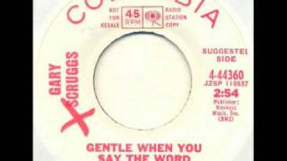 Gary Scruggs - Gentle when you say the word (psych-ish pop beat)