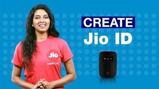 JioFi - كيفية إنشاء الخاصة بك جنينيو ID | الاعتماد جنينيو