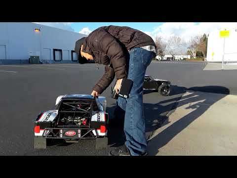 Losi 5ive T with 9inch Mad Max TIRES!!! (MUST WATCH!)