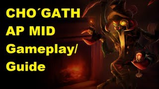 League of Legends: AP Cho Gath Guide/Gameplay (german)