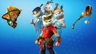 'NOUVEAU'FREE SKIN BUNDLE in Fortnite Battle Royale! (Bao Bros Dumpling Set, Starter Pack 7, PLUS)