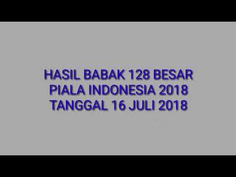PIALA INDONESIA 2018 - Babak 128 Besar PSCS vs Persibangga