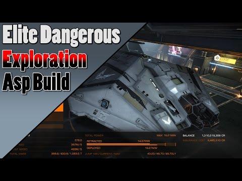 Elite Dangerous - Asp Explorer - Exploration Build