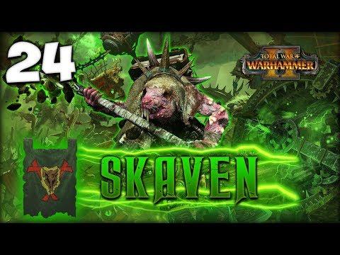 DRAGONS VS SKAVEN! Total War: Warhammer 2 - Skaven Campaign - Lord Skrolk #24