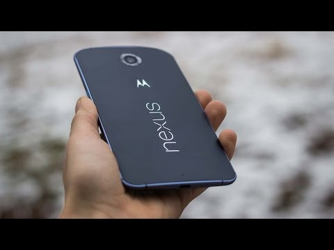 Motorola Nexus 6 - большой и мощный гуглофон